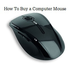 buying a computer mouse