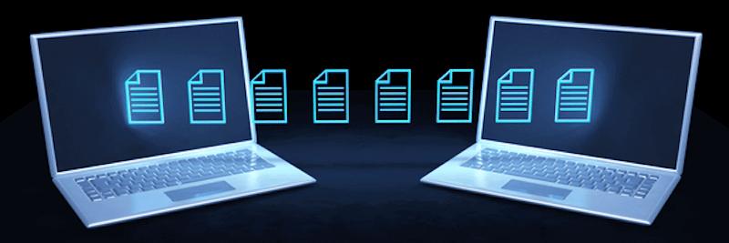 easy method for file transfer