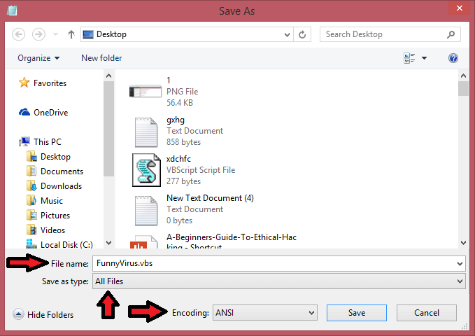 Easy Way To Create A Harmless Funny Virus with Notepad