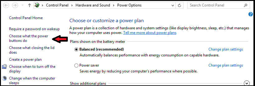 Easy Way To Disable Hybrid Shutdown Feature In Windows 8