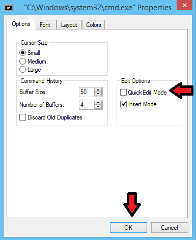 How To Enable Copy And Paste Feature In Your Command Prompt , How To Enable Copy And Paste Feature In Your Command Prompt