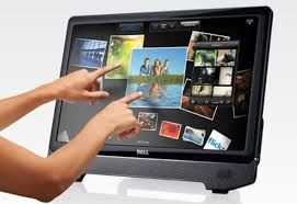 Touch screen technology computers