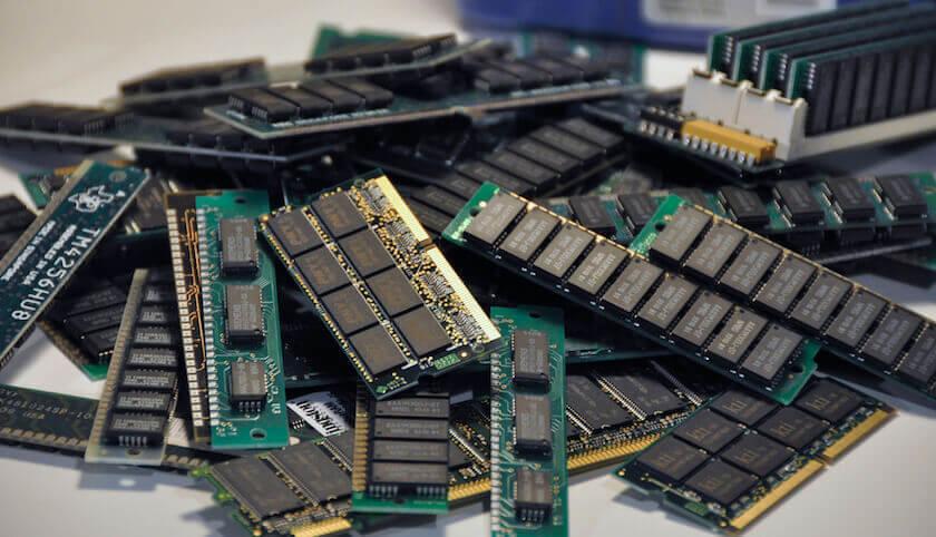 DDR, DDR2 and DDR3 RAM