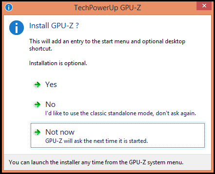 Know About Your Graphic Card In Detail With GPU-Z