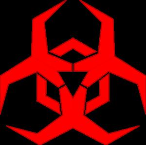Malware: Malicious Software Hazard Symbol