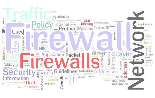 what is firewall and how it works