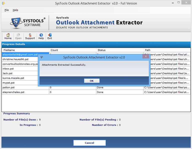 Technique To Educe Email Attachments From Outlook PST Files In Bulk