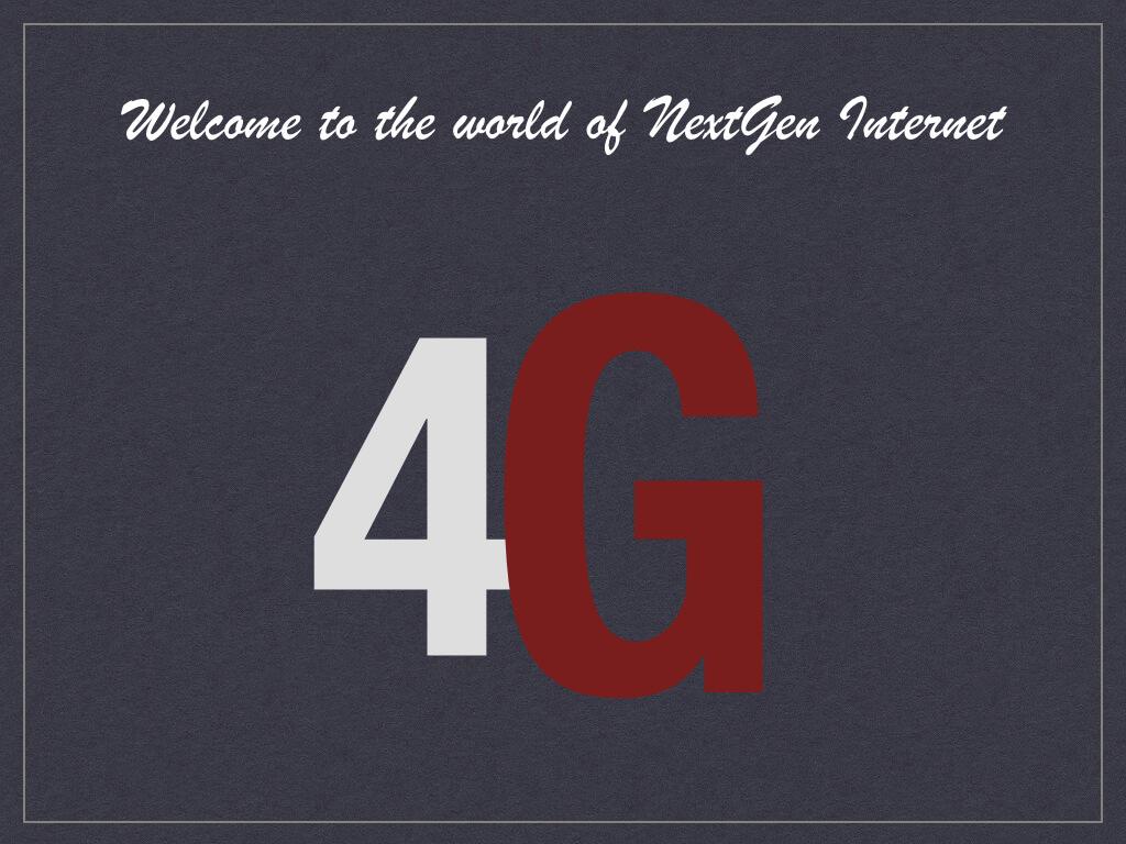 4G Technologies - Benefits of 4G technologies