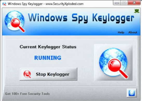 Monitors the activity of your Windows 10 with this Keylogger