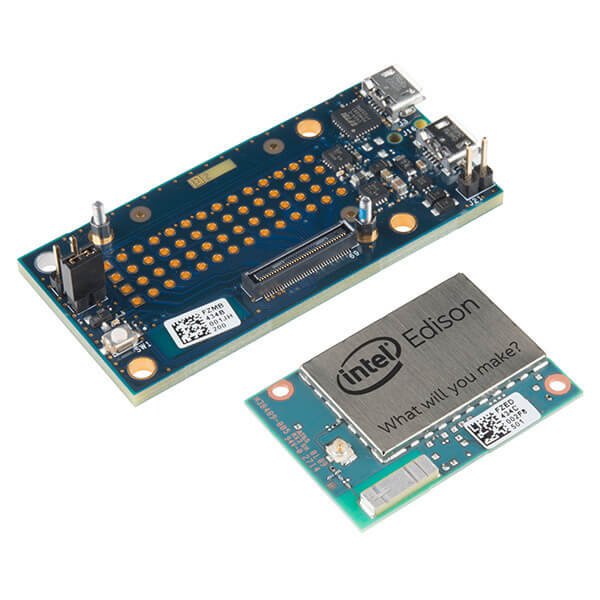 Intel Edison Module and Breakout Board