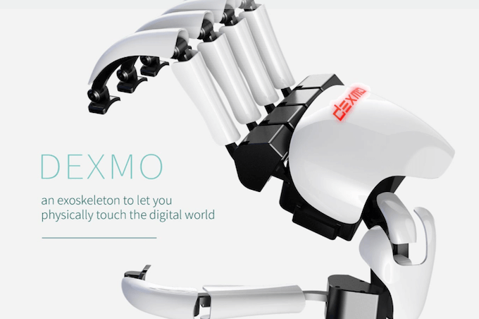 dexmo vr gloves