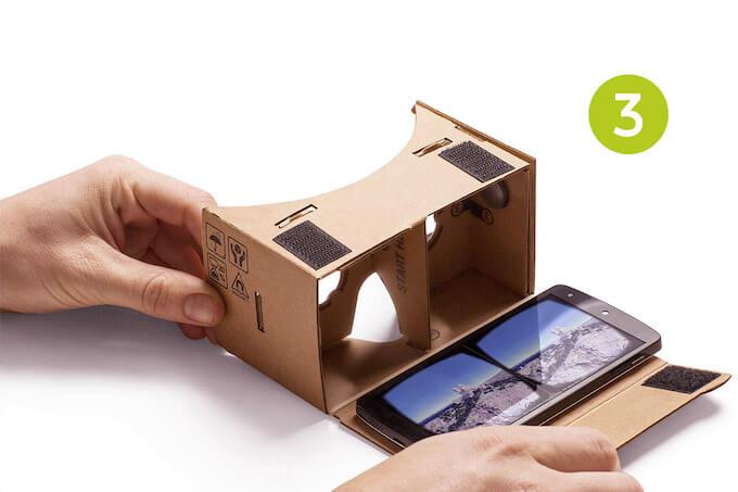 VR Google Cardboard: Types of VR
