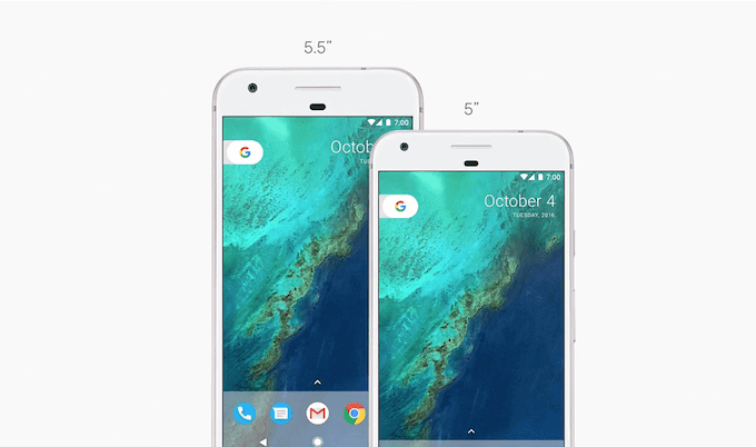 Google Pixel and Google Pixel XL Sizes: Phone By Google