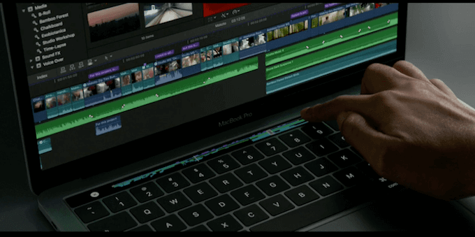 apple new macbook pro touch bar