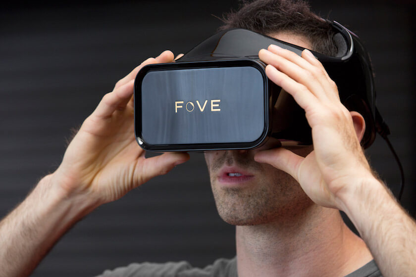 fove vr eye tracking