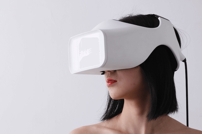 fove vr eye tracking hmd